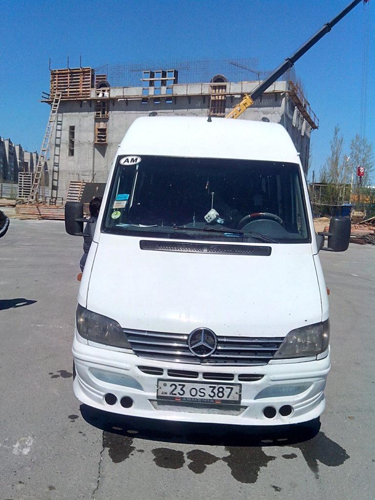 Волгоград - Ереван автобус